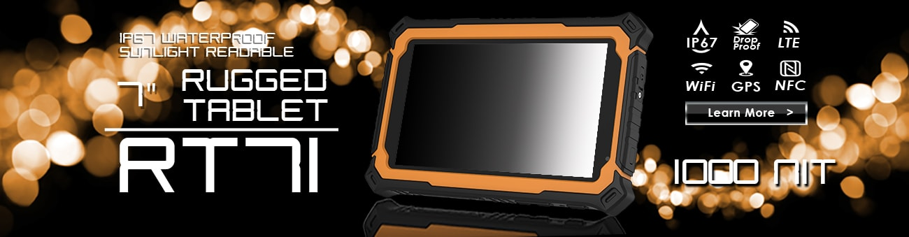 Ruggedized Tablet PC - Mobility Worker