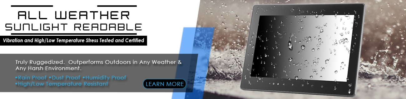 Xenar All Weather Sunlight Readable Monitors
