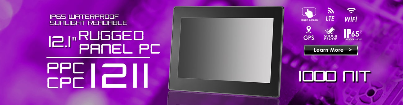 Rugged Industrial All-In-One Panel PC