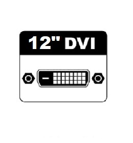 "12"" DVI Monitors"