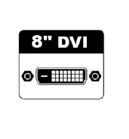 "8"" DVI Monitors"