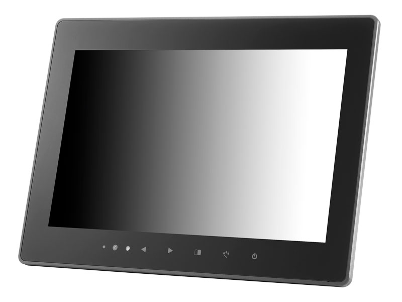 12.1 inch IP67 Sunlight Readable Optical Bonded Capacitive Touchscreen LCD Display Monitor with HDMI, DVI, VGA & AV Inputs & HDMI Video Output
