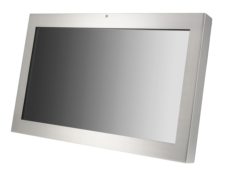 24 inch IP69K Sunlight Readable LCD Display Monitor with HDMI, DVI & VGA Inputs