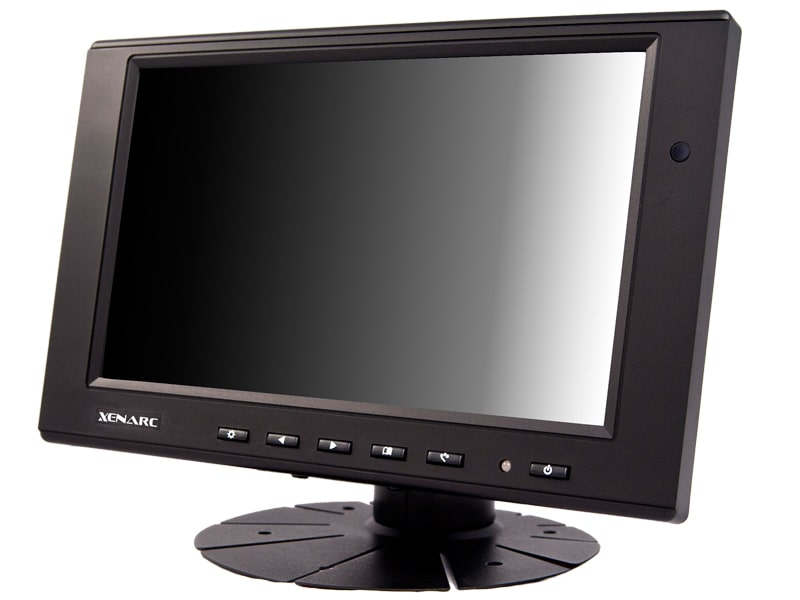 "7"" LCD Small Display Monitor with VGA & AV Inputs"