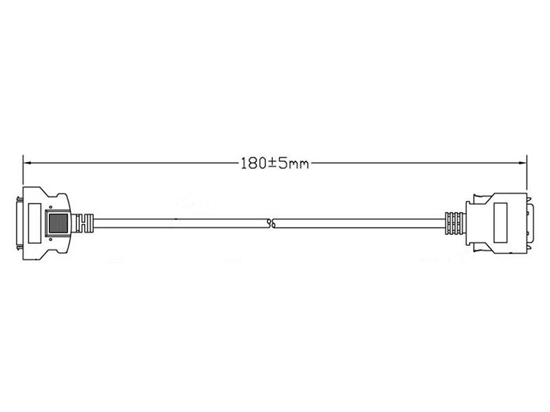 26-PIN TSV to 20-PIN Adaptor Cable