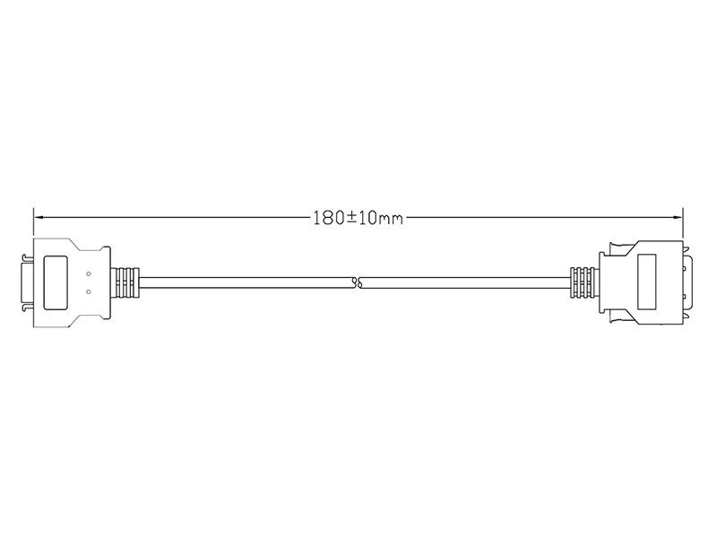 26-PIN TSH to 20-PIN Adaptor Cable
