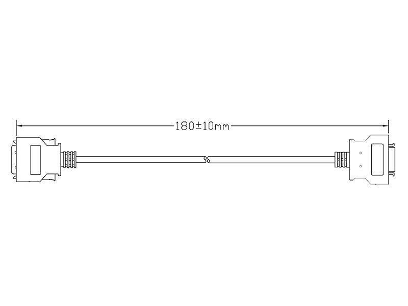26-PIN TSH to 26-PIN TSV Adaptor Cable